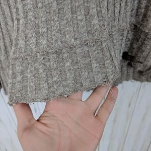 Free People Sweaters - Free People Cowl Neck Distressed Sweater